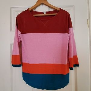 J.Crew Colorful Top